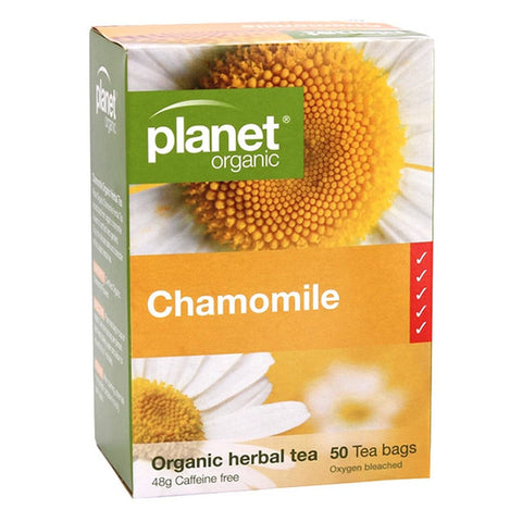 Planet Organic - Herbal Tea Bags - Chamomile (50 Pack)