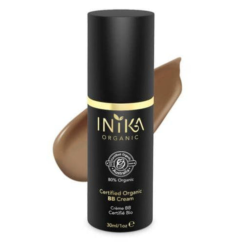 Inika Organic - Certified Organic BB Cream - Toffee (30ml)