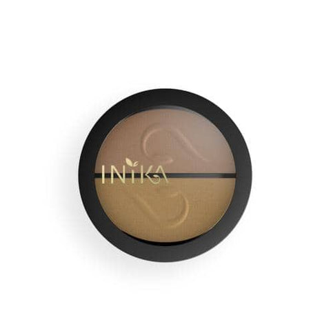 Inika Organic - Pressed Mineral Eye Shadow Duo - Gold Oyster (3.9g)