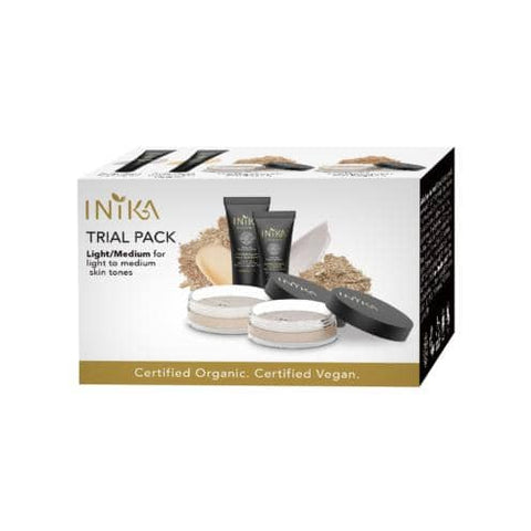 Inika Organic - Trial Pack - Light/Medium
