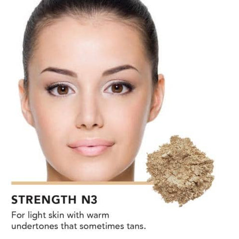 Inika Organic - Loose Mineral Foundation SPF25 - Strength (8g)