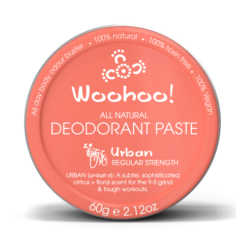 Woohoo Body - Deodorant Paste - Urban (Plastic-Free Tin 60g)