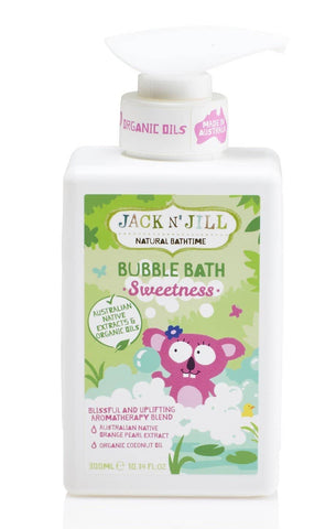Jack N' Jill - Natural Bathtime Bubble Bath - Sweetness (300ml)