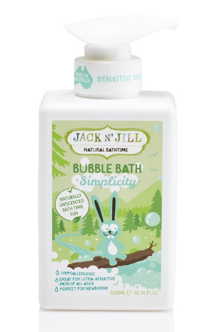 Jack N' Jill - Natural Bathtime Bubble Bath- Simplicity (300ml)