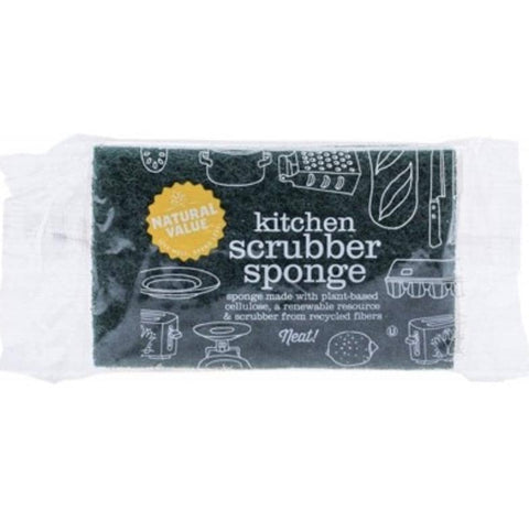 Natural Value - Kitchen Scrubber Sponge