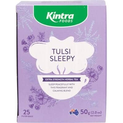 Kintra Foods - Tulsi Tea - Sleepy (25 tea bags)