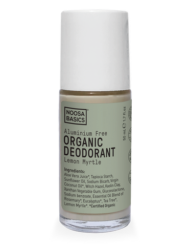 Noosa Basics - Organic Deodorant Roll-On - Lemon Myrtle (50g)