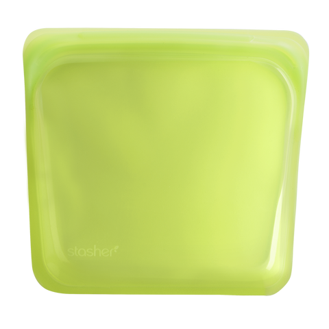 Stasher - Plastic-Free Sandwich Bag - Lime
