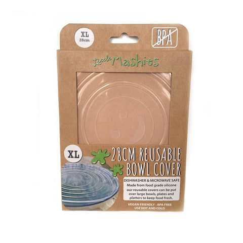 Little Mashies Reusable Bowl Cover - Extra Large (28cm)