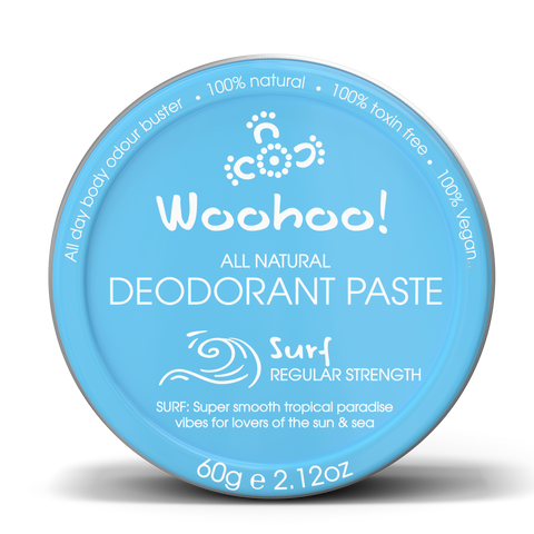 Woohoo Body - Deodorant Paste - Surf (Plastic-Free Tin 60g)