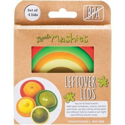 Little Mashies - Reusable Leftover Lids (4 pack)