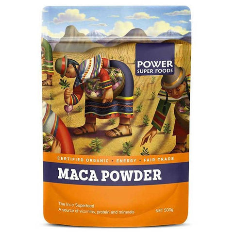 Power Super Foods -Certified Organic Maca Powder (250g)