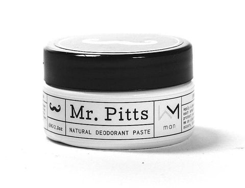 Mr Pitts - ACTIVE Natural Deodorant Paste - Man (70g)