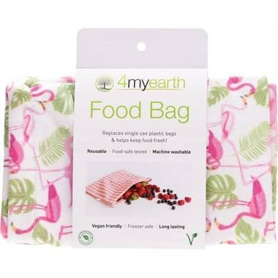 4myearth - Food Bag - Flamingoes