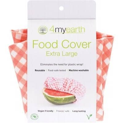 4myearth - Food Cover - Red Gingham (XL)