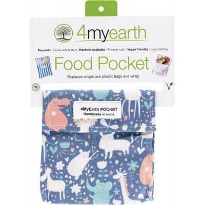 4myearth - Snack Pocket - Animals