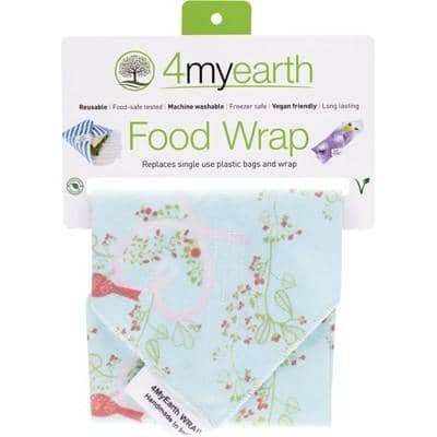 4MyEarth - Food Wraps - Love Birds