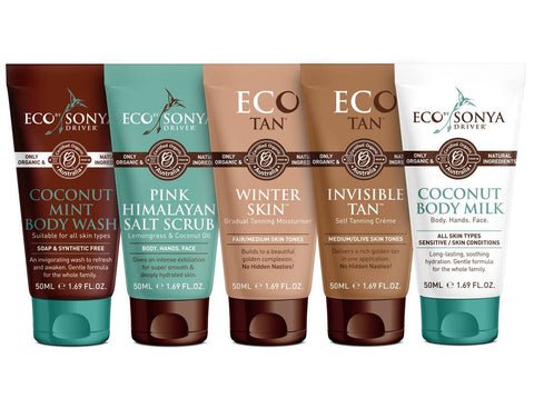 Eco Tan -Travel Essentials 5 x 50ml
