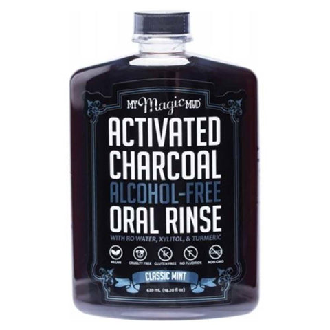 My Magic Mud - Charcoal Oral Rinse Classic Mint (420ml)