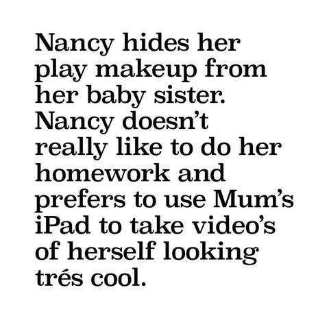 No Nasties Make Up - 'Nancy' Deluxe Purple Pretty Play Makeup Box