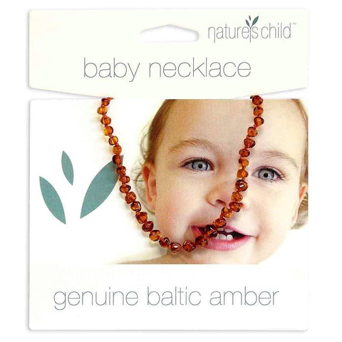 Natures Child - Amber Baby Necklace - Cognac