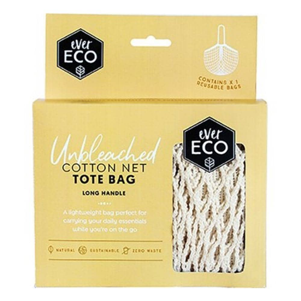 Ever Eco - Cotton Net Tote Bag - Long Handle