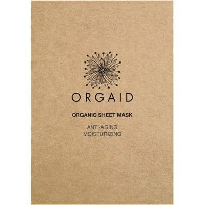 Orgaid - Sheet Mask - Anti-Aging and Moisturising (24ml)