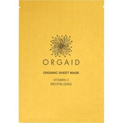 Orgaid - Sheet Mask - Vitamin C and Revitalising (24ml)