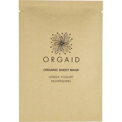 Orgaid - Sheet Mask - Greek Yogurt and Nourishing (24ml)