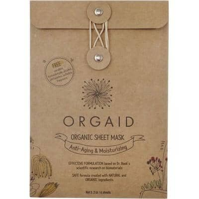 Orgaid - Sheet Mask - Anti-Aging and Moisturising (4x24ml)