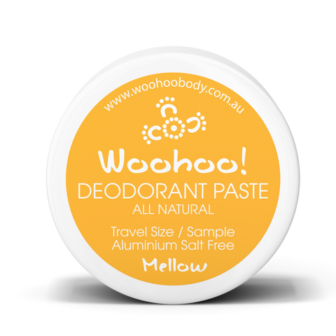 Woohoo Body - Deodorant Paste - Mellow/Bi Carb Free (Trial Size 10g)