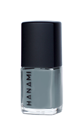 Hanami - TEN FREE Nail Polish - Pale Grey Eyes (15ml)