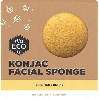 Ever Eco - Konjac Facial Sponge - Turmeric