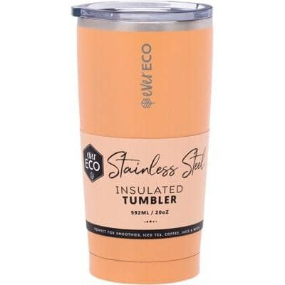 Ever Eco - Insulated Tumbler - Coral (592ml)
