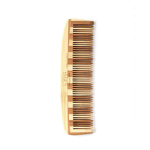Bass Brushes - Pocket Size Fine Bamboo Tooth Comb