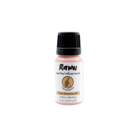 Raww - Cedarwood Pure Essential Oil (10ml)