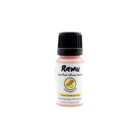 Raww - Lemongrass Pure Essential Oil (10ml)