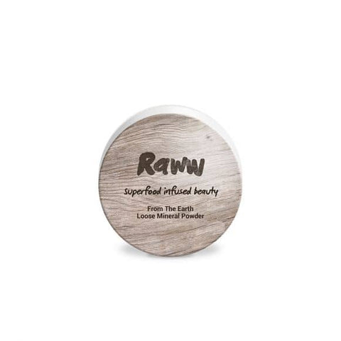 Raww - From The Earth Loose Mineral Powder - Vanilla (12g)