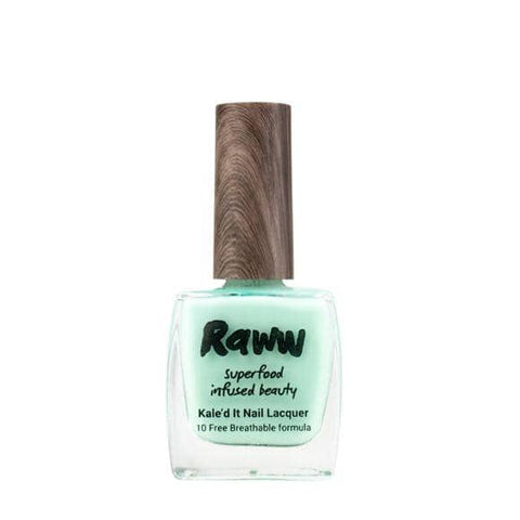 Raww - Kale'd It Nail Lacquer - It's Mint To Be! (10ml)