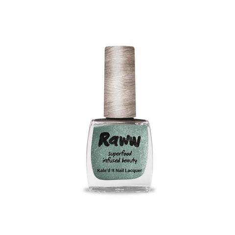 Raww - Kale'd It Nail Lacquer - Oh My Green-Ness (10ml)