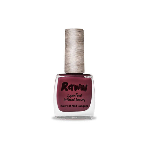 Raww - Kale'd It Nail Lacquer - Plummed Out (10ml)