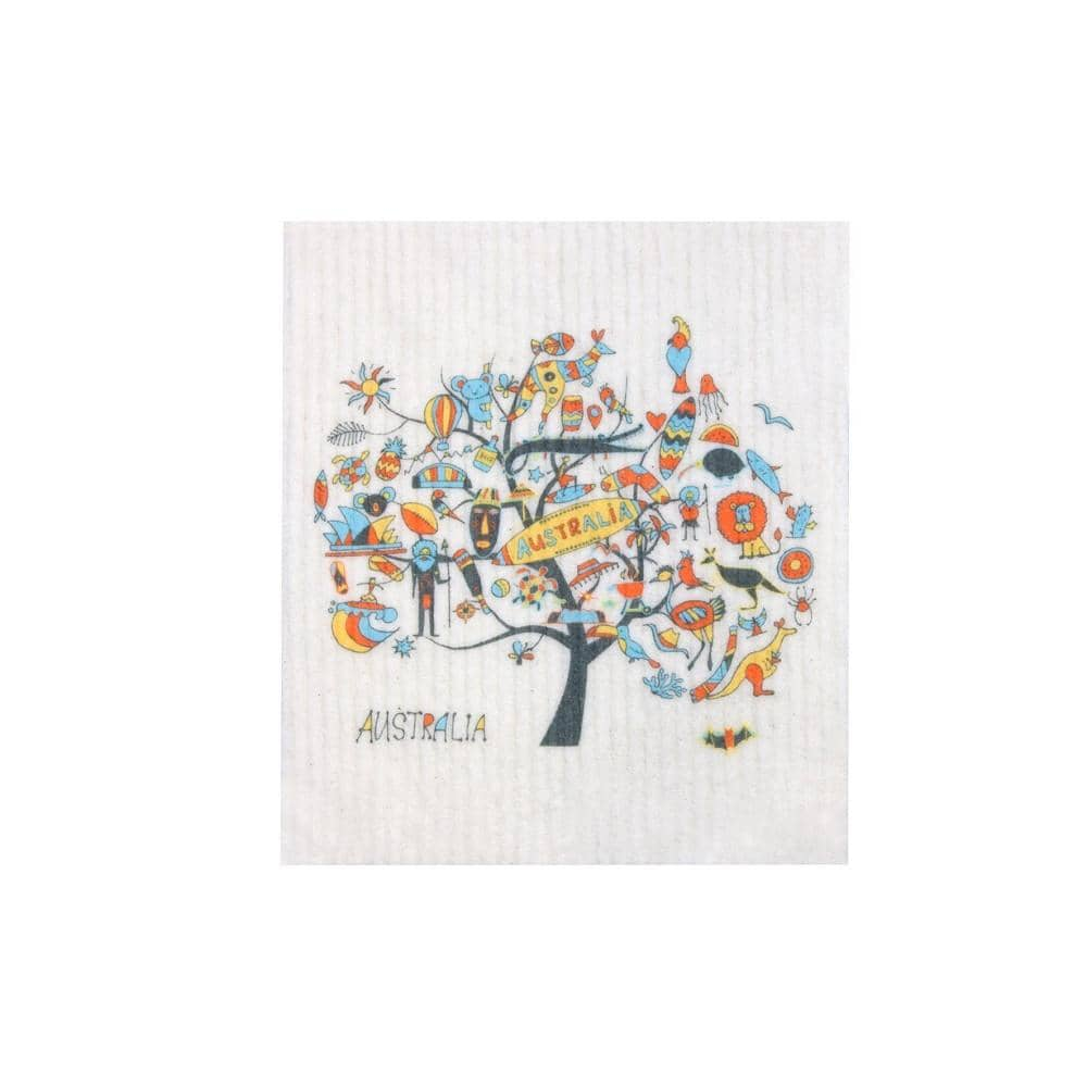 Retro Kitchen - Biodegradable Dish Cloth - Australia