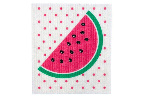 Retro Kitchen - Biodegradable Dish Cloth - Watermelon