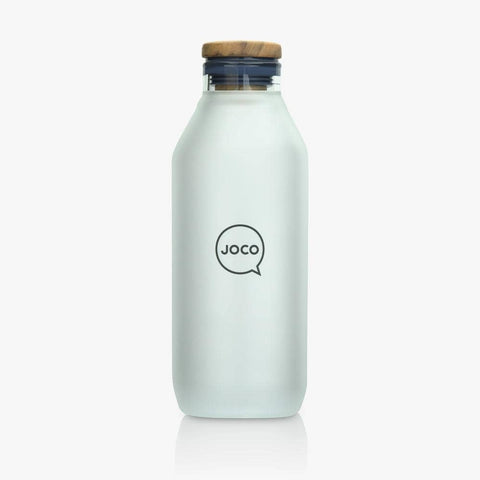 JOCO - Reusable Velvet Grip Drinking Flask - Neutral (600ml)