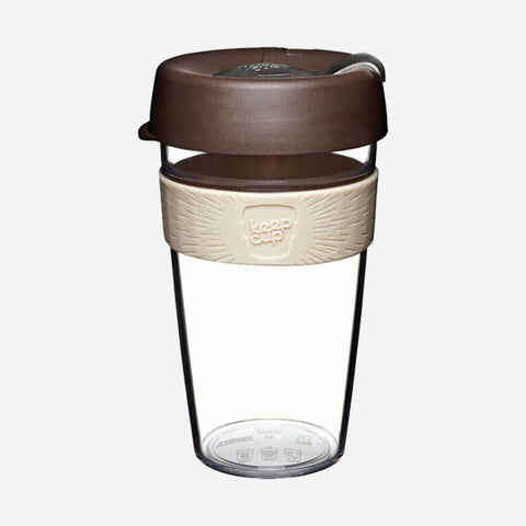 KeepCup - Clear Original Coffee Cup - Aroma (16oz)