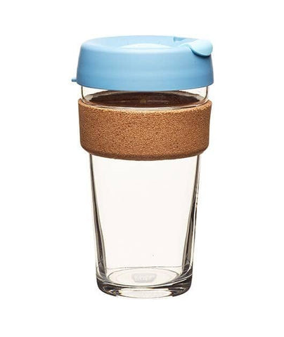 KeepCup - Cork Brew Coffee Cup - Rock Salt (16oz)