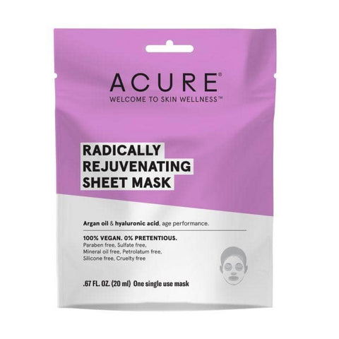 ACURE - Radically Rejuvenating Sheet Mask (20ml)