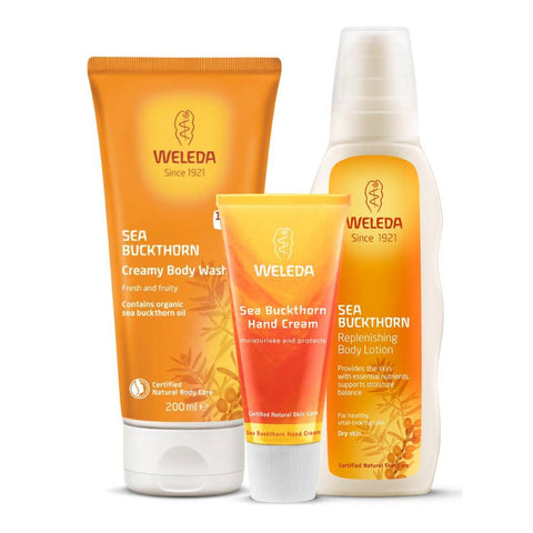 Weleda - Sea Buckthorn Replenishing Body Care Set