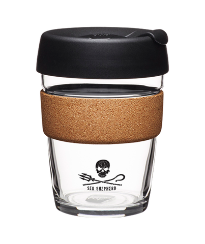 KeepCup - Cork Brew Coffee Cup - Sea Shepherd (12oz)