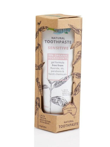 The Natural Family Co. - Natural Toothpaste - Sensitive (100g)